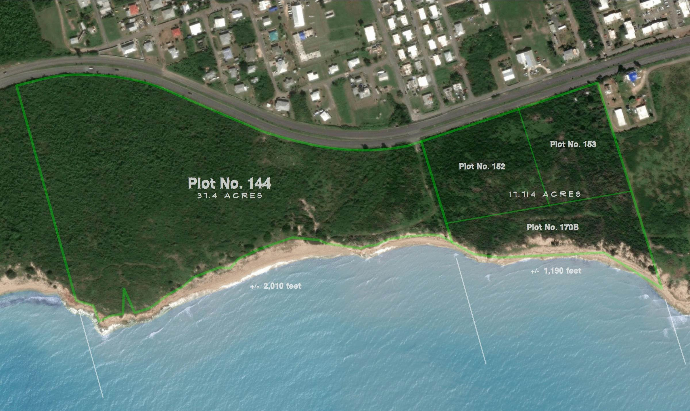 Land for Sale at 144 et al Whim (Two Will) WE St Croix, Virgin Islands 00840 United States Virgin Islands